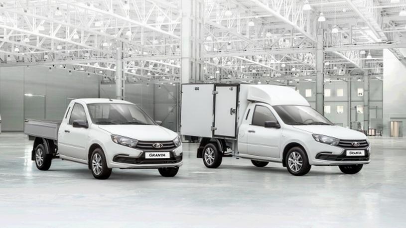 АвтоВАЗ открыл продажи обновленных фургонов Lada Granta