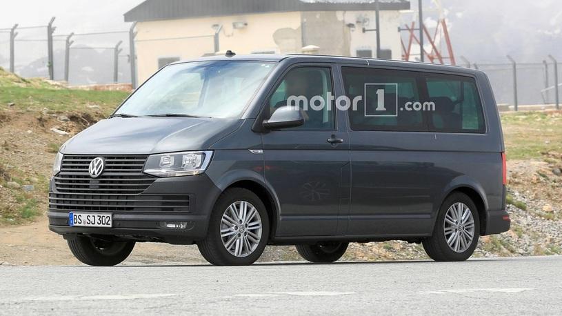 Volkswagen готовится выпустить обновленный T6 Transporter