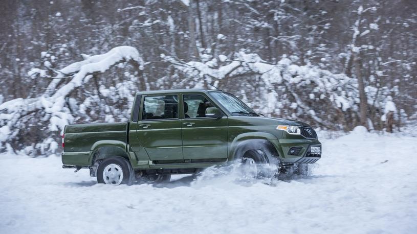 Бюджетные версии пикапа УАЗ получили новые опции