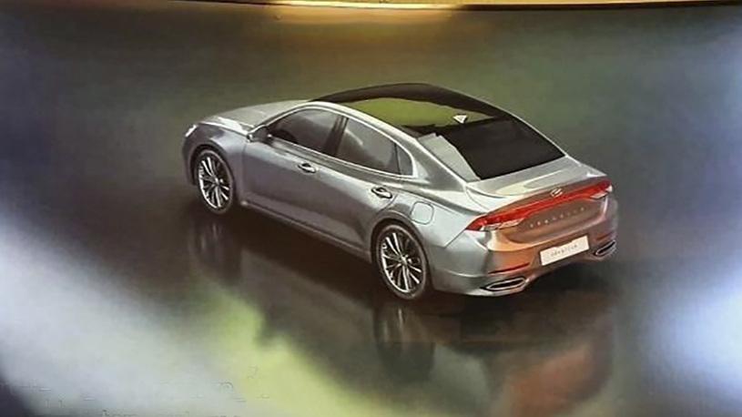 Hyundai серьезно обновила свой флагманский седан: первые изображения