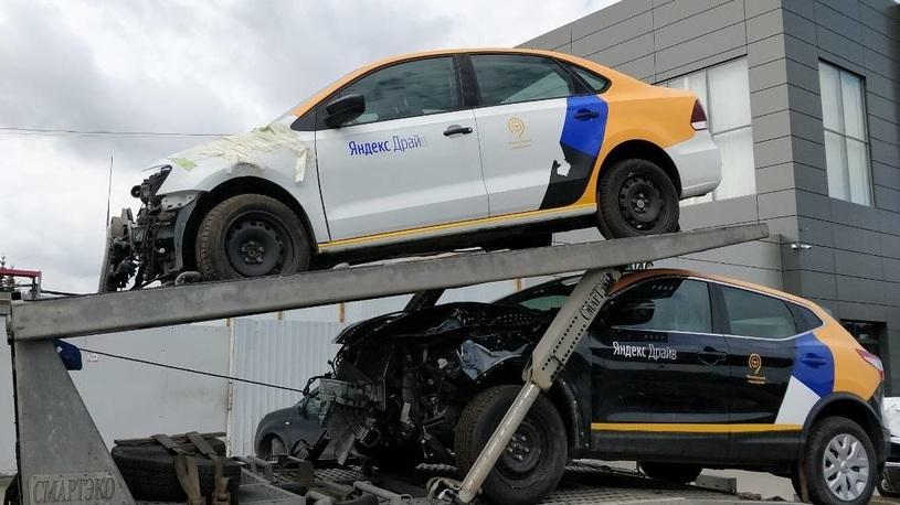 МВД отмечает большое число ДТП с участием каршеринговых автомобилей