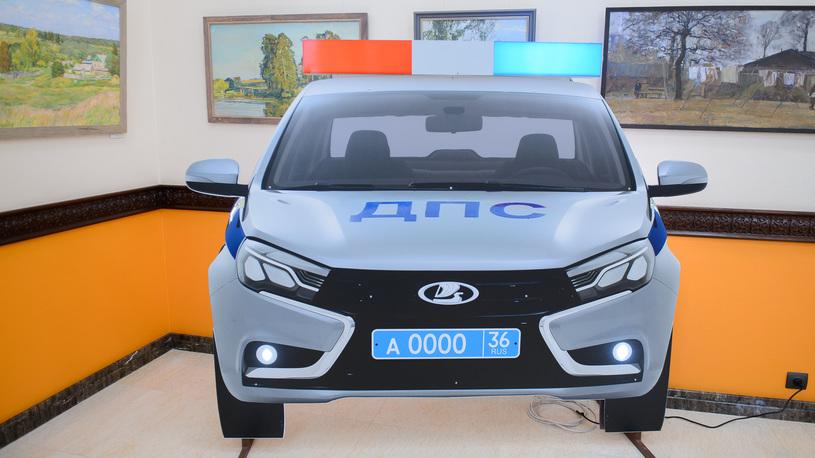 На вооружении ГИБДД появилась пластмассовая Lada Vesta