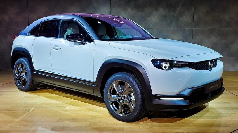 Mazda явила миру купеобразный кроссовер MX-30, и он весьма непрост