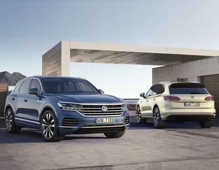 Цены на новый VW Touareg