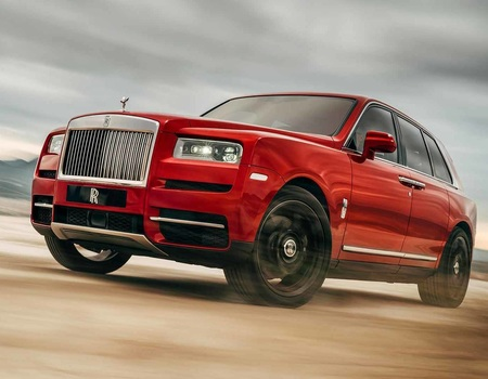 Rolls-Royce за 25 млн уже в РФ