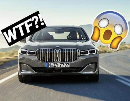 Ноздри BMW 7: реакция соцсетей