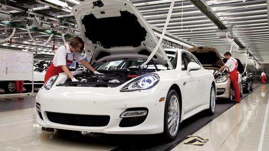 Porsche Panamera будут собирать на заводе в Лейпциге
