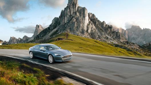 Aston Martin Rapide: 470-сильный седан запущен в серийное производство