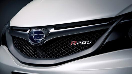 Subaru Impreza представила эксклюзивную версию STI R205