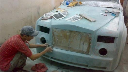 История создания Rolls-Royce Phantom из Казахстана
