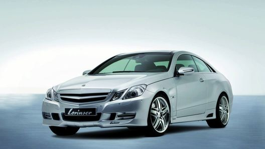 Фирма Lorinser подготовила новый обвес для купе Mercedes-Benz E-Class