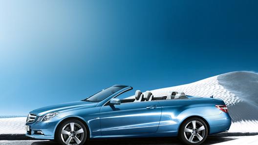 Кабриолеты Mercedes-Benz E-класса будут стоить в России 2,2 млн рублей