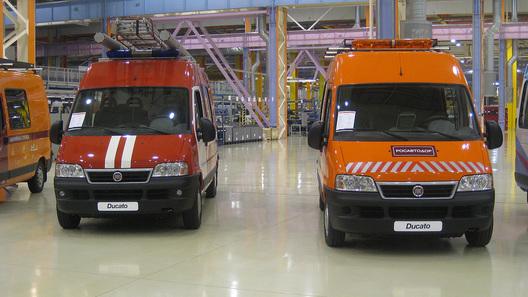 На заводе в Елабуге прошла презентация полноприводного Fiat Ducato 4x4