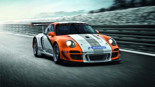 Porsche 911 GT3 R Hybrid: электроспорт