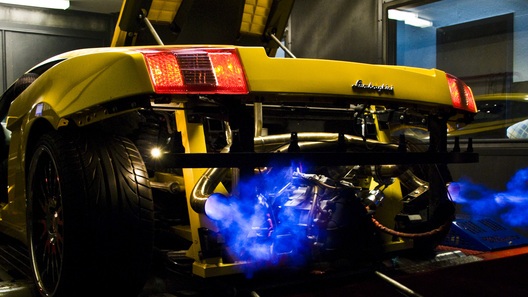 Lamborghini Gallardo от FluidMotorUnion: огнедышащая динамика
