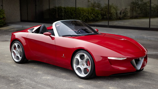 Alfa Romeo 2uettottanta от Pininfarina: подарок на юбилей