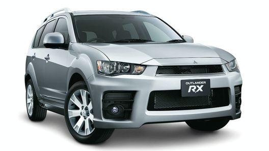 Mitsubishi Outlander RX: спортивная версия кроссовера для австралийского рынка