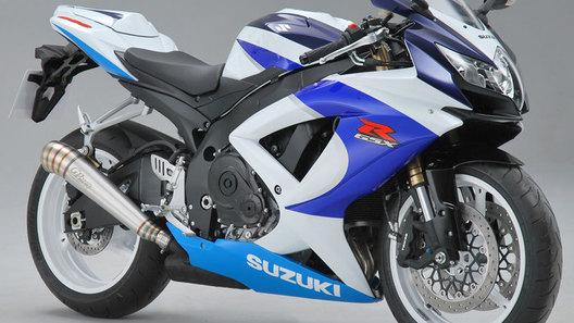Suzuki выпустит ограниченную версию байка GSX-R600 Limited Edition