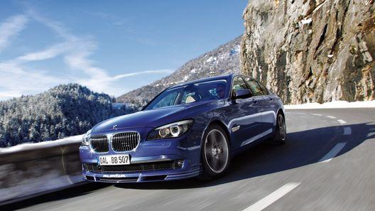 Alpina B7 Biturbo Allrad: большой полноприводный седан BMW от известного ателье
