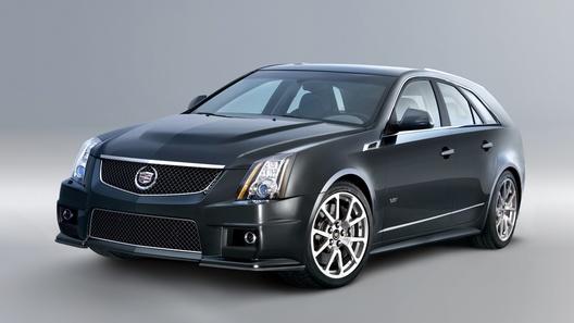 Cadillac CTS-V Sport Wagon: суперуниверсал для состоятельного семьянина