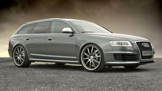 Ателье APS Sportec предлагает комплект модификаций для Audi RS6 V10