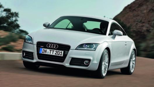 Обновленный Audi TT покажут в апреле в Германии