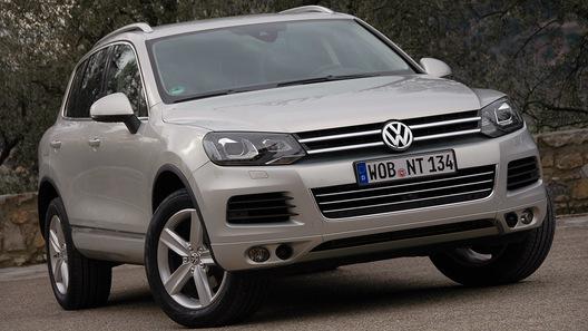 Volkswagen раздумывает над созданием заднеприводной версии Touareg