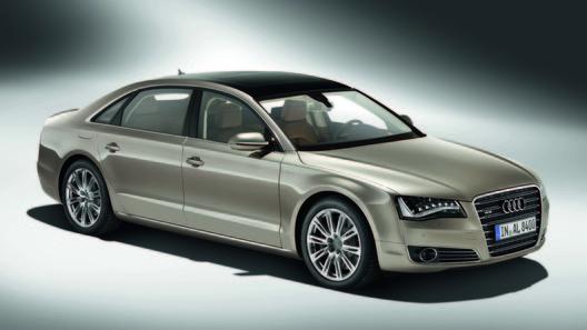 Audi A8 L - 12-цилиндровый мотор для удлиненной версии комфортного седана