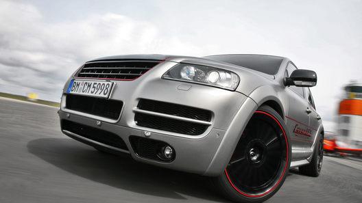 Фирма CoverEFX приодела Touareg Sport Edition и подарила ему 500 лошадиных сил