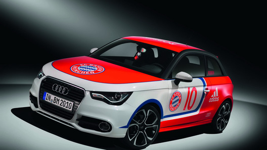 Audi покажет семь эксклюзивных версий хэтчбека А1