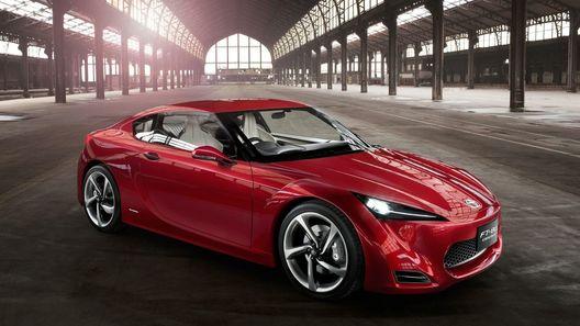 В 2012 году Toyota представит бюджетную версию спорткара FT-86