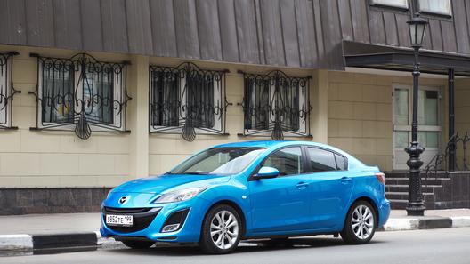 Длительный тест Mazda3 - она такая разная