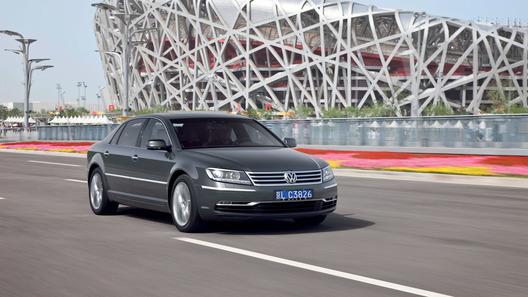 Volkswagen показал новые фотографии представительского седана Phaeton