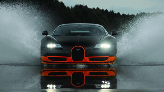 Bugatti представила самую мощную версию Veyron 16.4 Super Sport