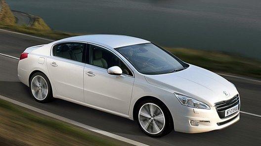 Peugeot показала новый седан 508
