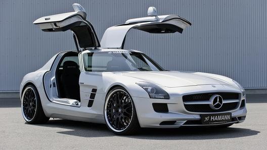На суперкар от Mercedes примерили первый комплект тюнинга