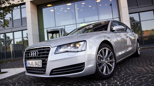 Знакомимся с удлиненной версией Audi A8 L