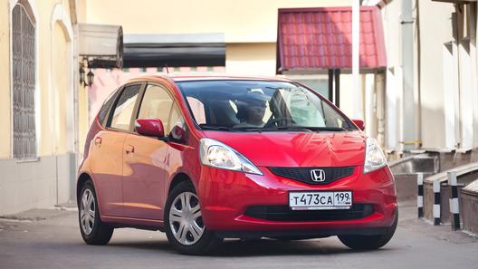Длительный тест Honda Jazz – японский бриз московского лета