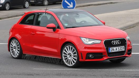 Папарацци засекли заряженную версию Audi S1 без камуфляжа