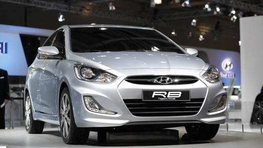 Названа цена народного седана Hyundai Solaris