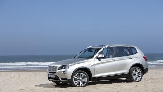 Новый BMW X3 приедет в Россию в ноябре
