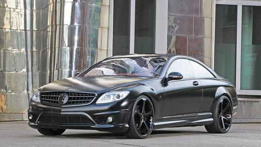 Ателье Anderson Germany анонсировало 670-сильный Mercedes CL65 AMG Black Edition