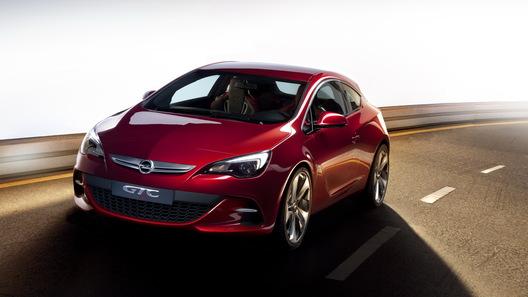 Фирма Opel представила прототип спортивного хэтчбека Astra GTC