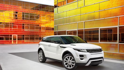 Объявлены российские цены на Range Rover Evoque