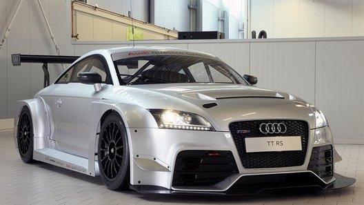Опубликованы первые фото гоночной версии Audi TT RS