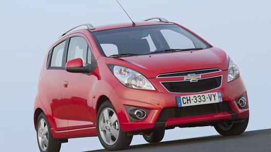 Новый Chevrolet Spark обойдется россиянам в 379 000 рублей