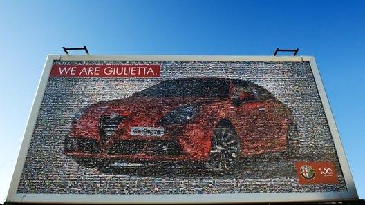 Alfa Romeo привлекает к своей промо-кампании тысячи поклонников