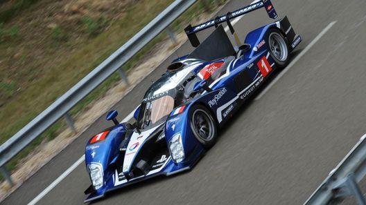 Peugeot испытывает новый прототип для Ле Мана
