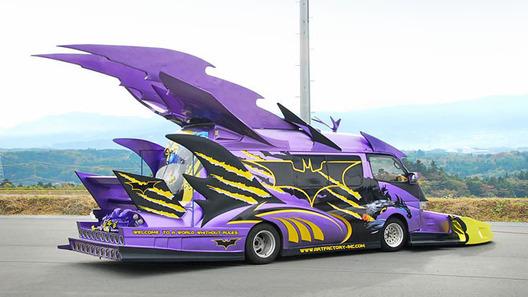 Японский поклонник Бэтмена построил сумасшедший