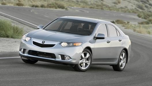 Acura обновила бизнес-седан TSX